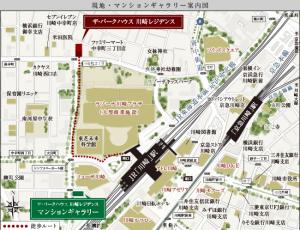 川崎 地図
