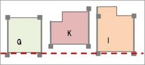 事例3(チラシの間取り図)