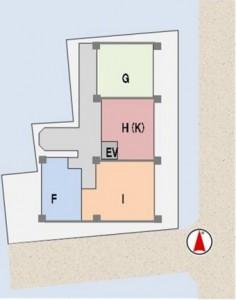 事例3(方位補正後の全体配置)