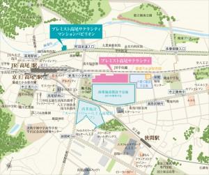 高尾 地図