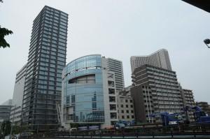 高浜橋上、新幹線支線の下より北東方面を望む