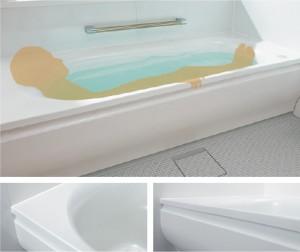 TOTOラウンド浴槽(上記ホームページより)