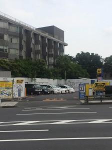 コクド本社跡地(2016年6月撮影)