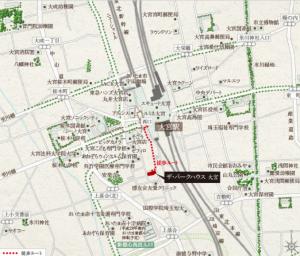 大宮 地図