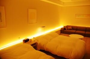ベッド&リビングスペース
