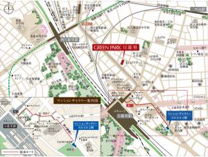 グリーン 地図