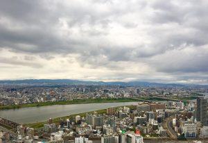 グランドメゾン新梅田タワー THE CLUB RESIDENCEの眺望を疑似体験