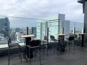 ビジネスエアポート渋谷フクラス 屋外テラス