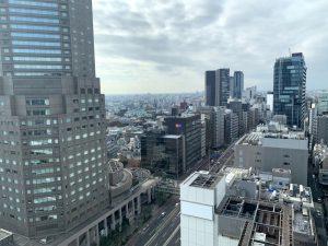 ビジネスエアポート渋谷フクラス 景色