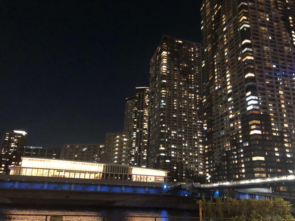 THE TOKYO TOWERS夜景 シーサイドアネックス棟