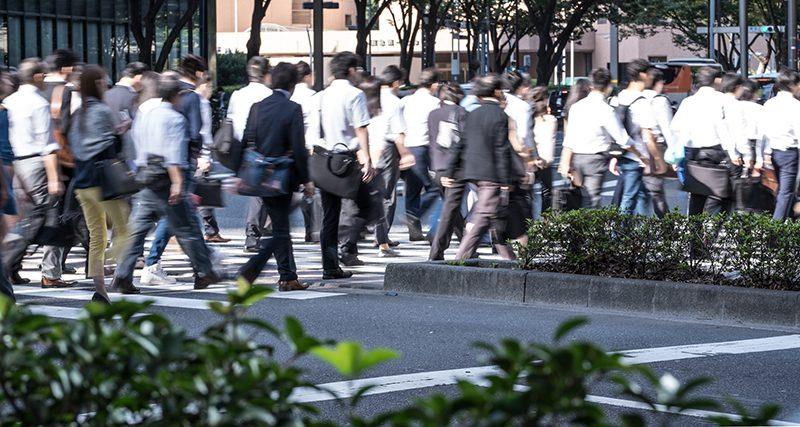 震災のあの日、みんな夜中に歩いたよね…(画像はイメージです)