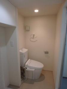 トイレの壁をなくしてアメリカンスタイルに