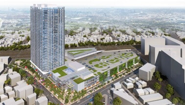 東金町一丁目西地区第一種市街地再開発事業